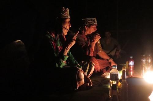 церемонии аяваски с шипибо