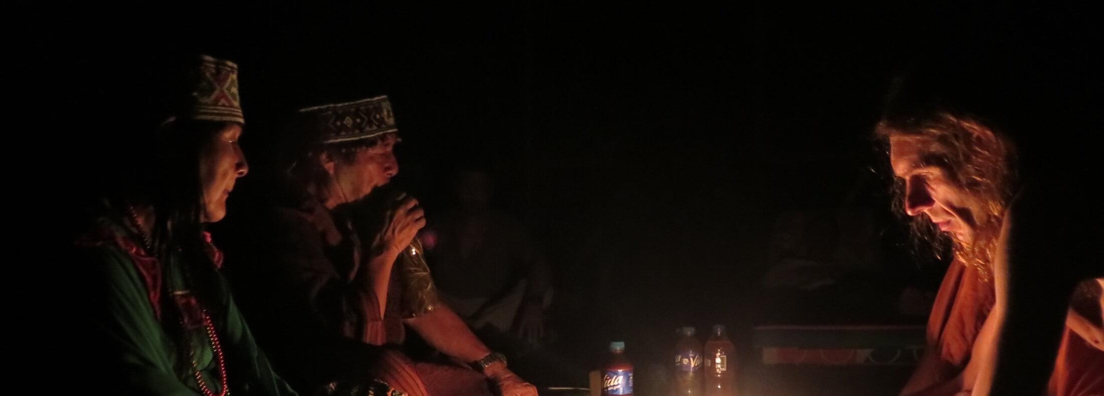 церемонии аяваски с маэстро шипибо