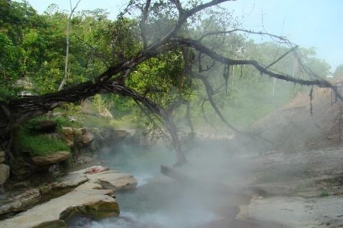 вулканическая река маянтуяку